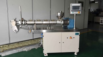 Lab Small Single Screw Extruder-side