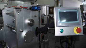Lab Small Three-Rolls Calendering Machine-touch screen