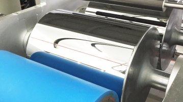 Small Extrusion Laminating Machine-rolls