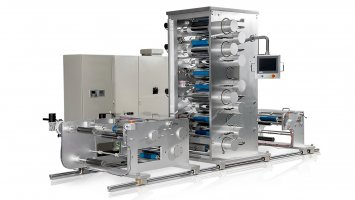 Two stage draw sections MDO machine