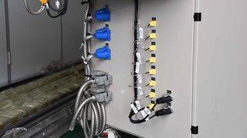 small extrusion cast film machine-Eletical