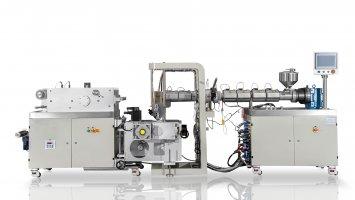 small extrusion cast film machine-Type 1