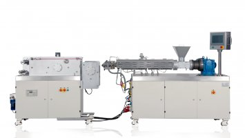 small extrusion cast film machine-Type2