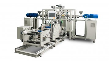 Small Laboratory Multi Layer Co-extrusion Coating & Casting & Laminating & MDO Line