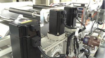 Small Extrusion Laminating Machine-servo drive