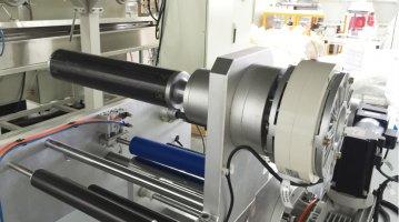 Small Extrusion Laminating Machine-unwinding rolls