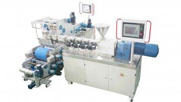 Small Single Screw Extrusion Laminating machine