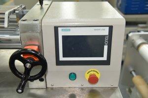 Mini Precision Rubber Two Roll Mill-touch screen