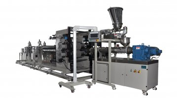 PPTC Resettable Fuse Sheet Extrusion Line