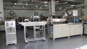 Small Precision Twin Screw Extrusion Pelletizing Line