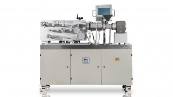 Lab Small Cast Film Extrusion Machine