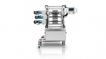 Lab small calender machine-3 roller