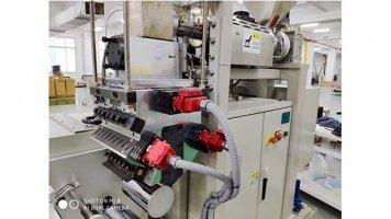 lab multi layer cast film machine