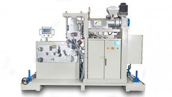 lab small multi layer cast film machine