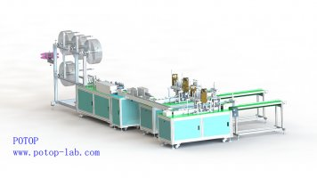 disposable surgical mask production line