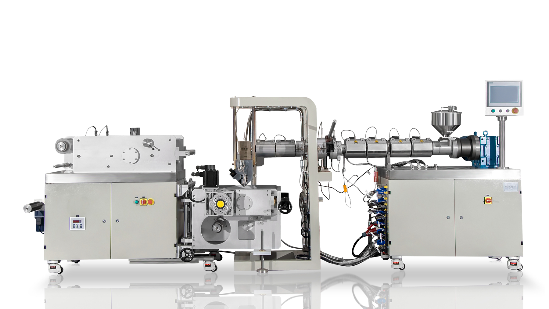 small extrusion cast film machine