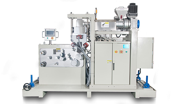 Lab small multi layer cast film machine