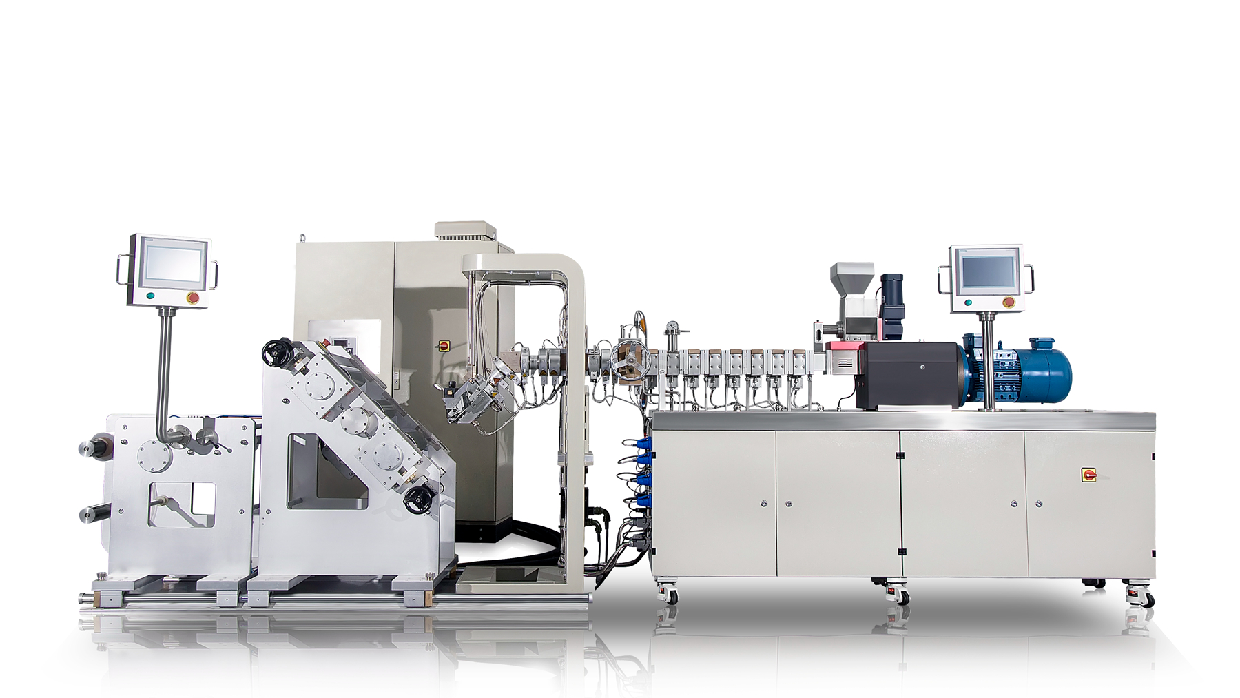 Small Laboratory Extrusion Calendering machine